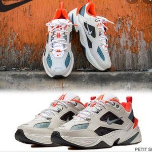 Nike m2k techno bone/orange colorway